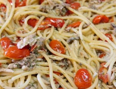 Spaghetti con le alici fresche ricette di pasta for Spaghetti ricette